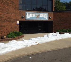Taylor Elementary school in Cedar Rapids.