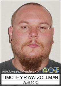 Photo from the Iowa Sex Offender Registry.