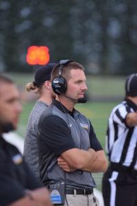 Dordt College coach Joel Penner