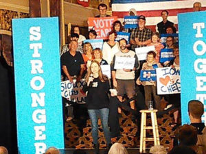 Chelsea Clinton in Sioux City.