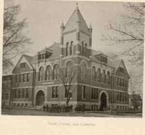 Roosevelt High School in Clinton.