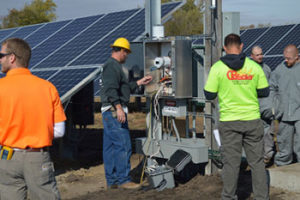 This solar site in Urbana is the first of five to start generating for CIPCO.