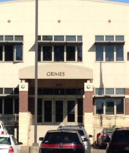 Grimes Elementary in Burlington.