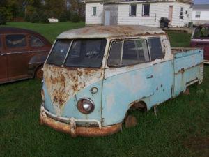 Volkswagen truck.