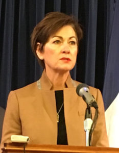 Lt. Governor Kim Reynolds (file photo).
