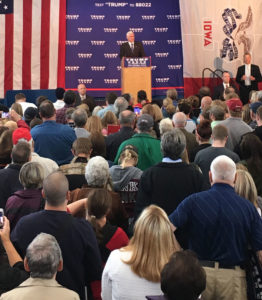 Mike Pence in Fort Dodge.
