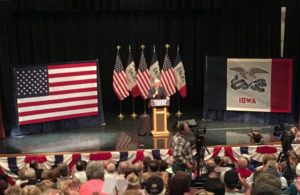 Mike Pence in Newton.
