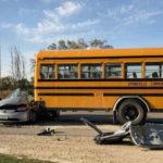 Car driver in Springville bus accident dies