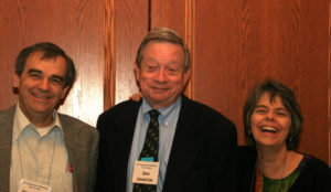John Tinker, Dan Johnston and Mary Beth Tinker in 2010 (photo courtesy of ACLU of Iowa)
