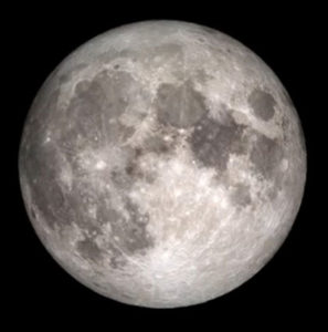 Super moon (NASA photo)