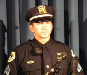 Sgt. Paul Parizek.