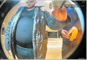 Suspect in skimmer installation.