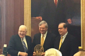 Ken Quinn, Tom Vilsack and John Ruan III.