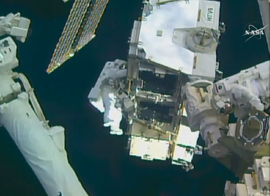 WATCH LIVE as Nasa astronauts perform RECORD BREAKING spacewalk