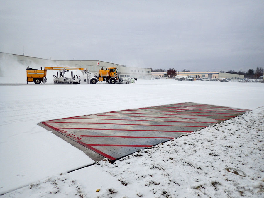 isu heated pavement could cut airport delays