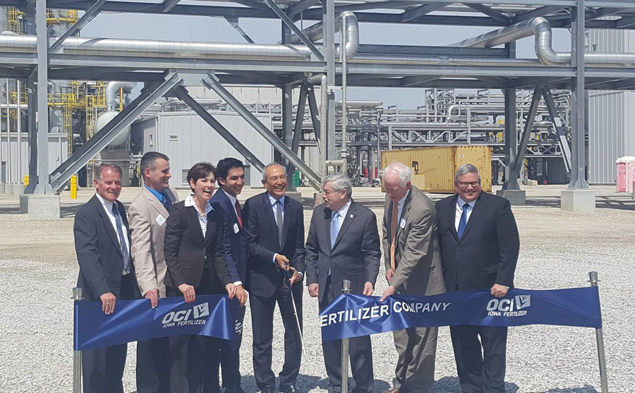 $3B fertilizer plant opens in southeast Iowa