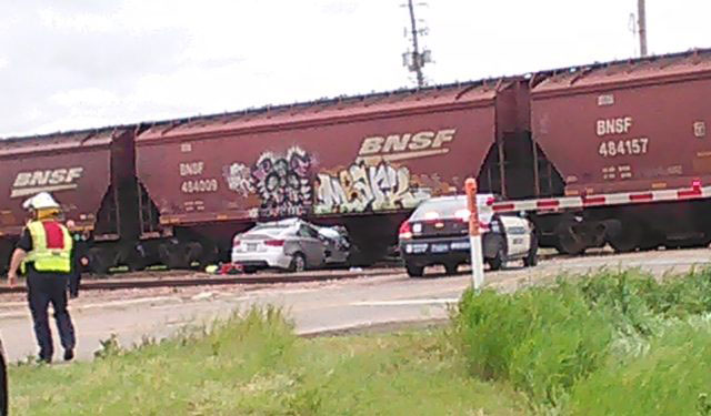 Sioux City Car Hit Train