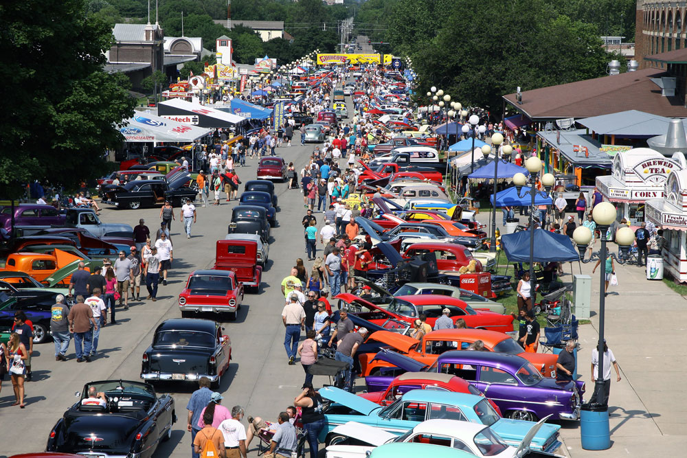 Vintage Hot Rods And Muscle Cars Will Be On Display This Weekend At - Good guys car show iowa