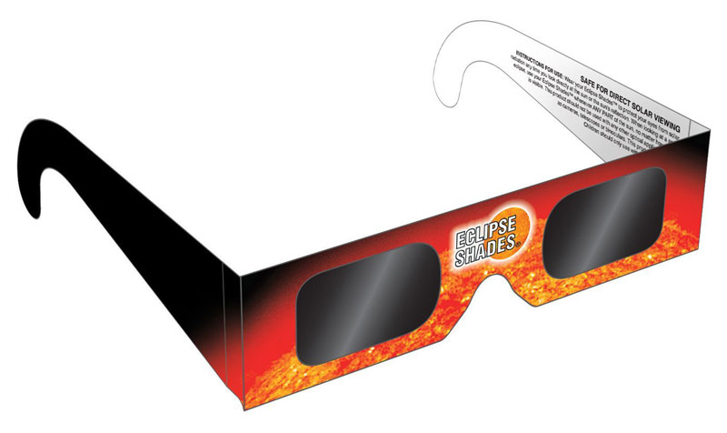 Iowans are being warned to use only certified glasses for watching the solar eclipse later this month