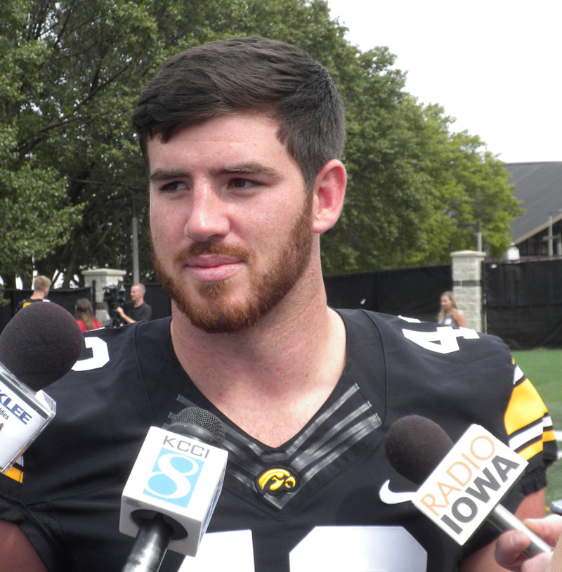 low priced 90fbd eac76 Josey Jewell leads experienced Hawkeye linebacker group ...