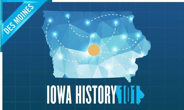 The Iowa History 101 RV is at the Iowa State Fair - Radio Iowa