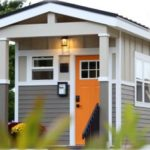 Volunteers at Drake, UNI build tiny homes for nonprofit helping homeless