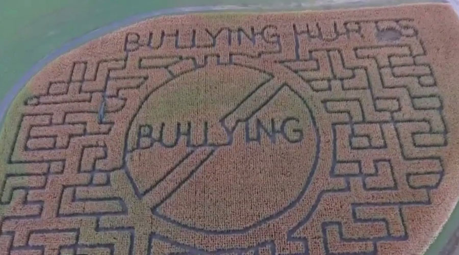 Benton County corn maze features anti-bullying message