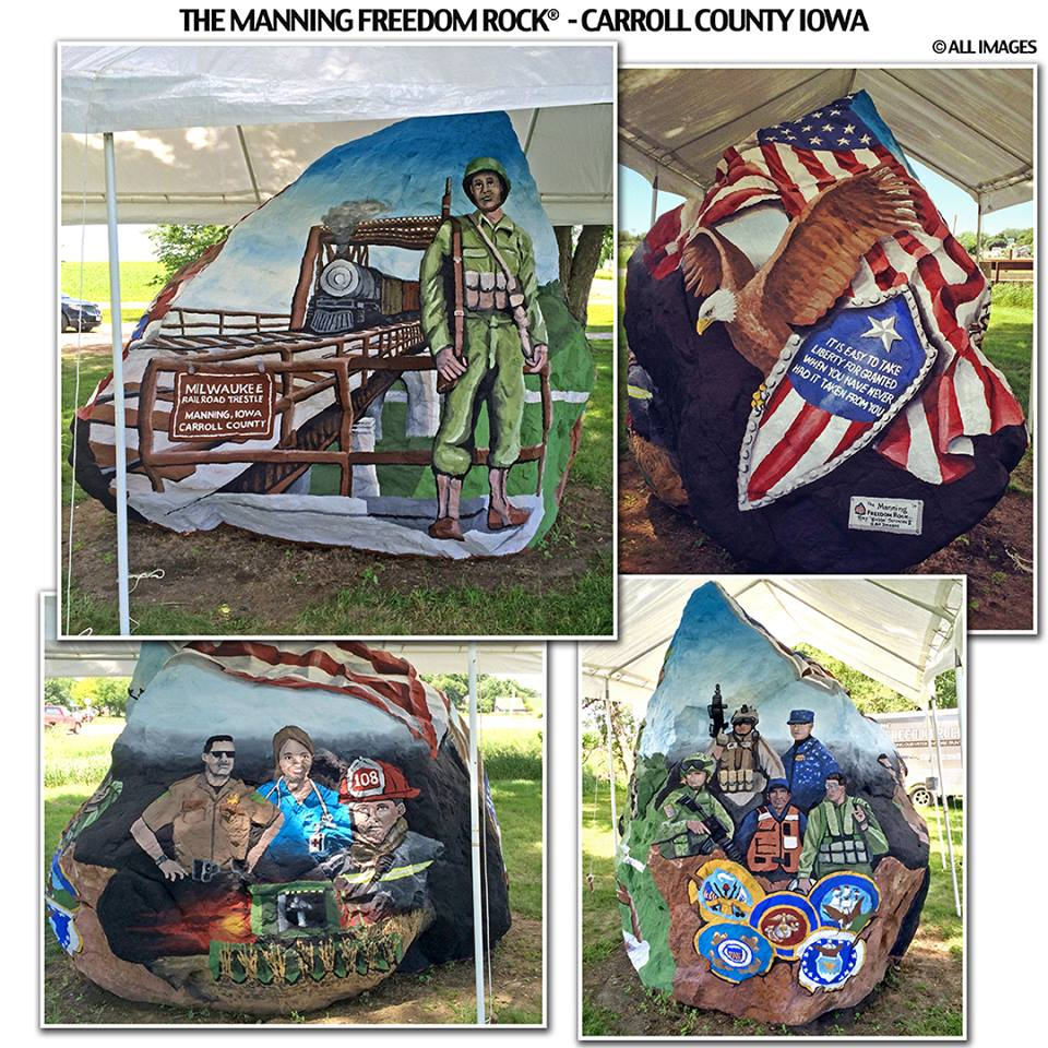 """By Here Pay Here >> Sixteen Iowa counties now have their own """"Freedom Rock ..."""