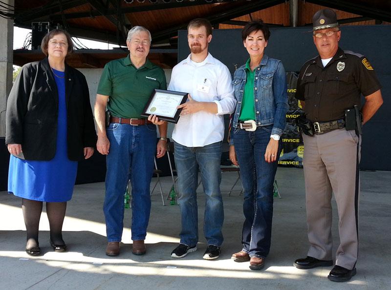 Iowans Honored At Iowa State Fair With Lifesaving Awards