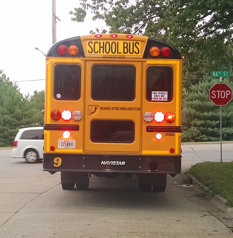 State Officials Stress Bus Safety As New School Year Gets