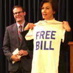 Governor Reynolds encountered anti-ethanol protesters in Texas