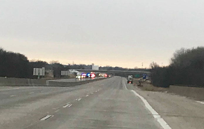 Truck fire forces shutdown of part of Interstate 80/35 - Radio Iowa
