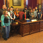 Motorcycle riders lobby lawmakers, meet with the governor