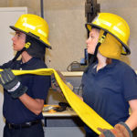 DMACC offers free class to high school girls to get them interested in firefighting, EMS