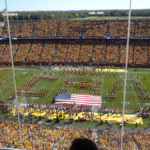 ISU honors slain student Celia Arozamena at football game