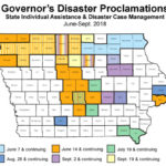 State disaster declaration for 14 counties hit by this week's weather