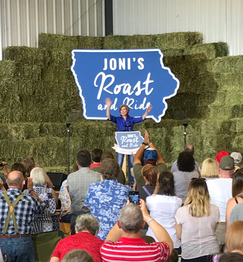 Senator Ernst uses 5th annual fundraiser to launch bid for
