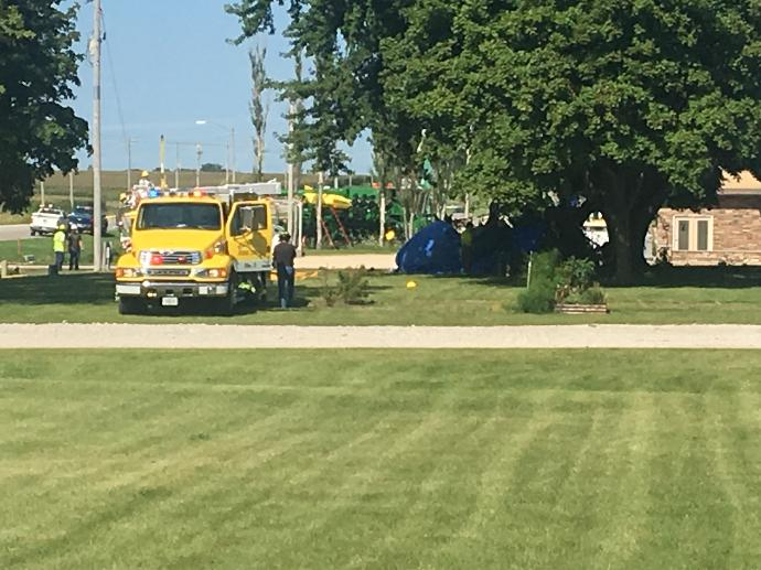 Crop duster crashes in Sumner near Main Street - Radio Iowa