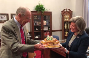 History Channel critic Grassley links his 86th birthday to ...