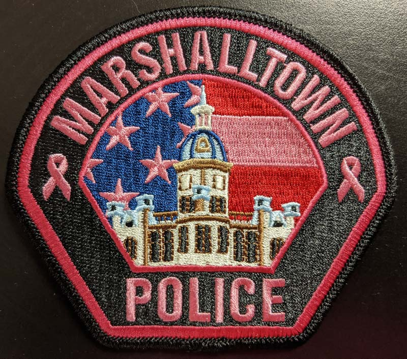 Marshalltown PD patch.'