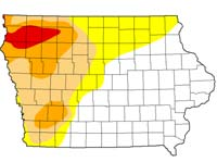 Low water looming as bigger concern than flooding on Missouri River – Radio Iowa